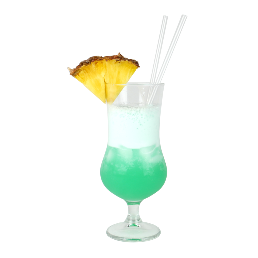 Blue Hawaiian drink