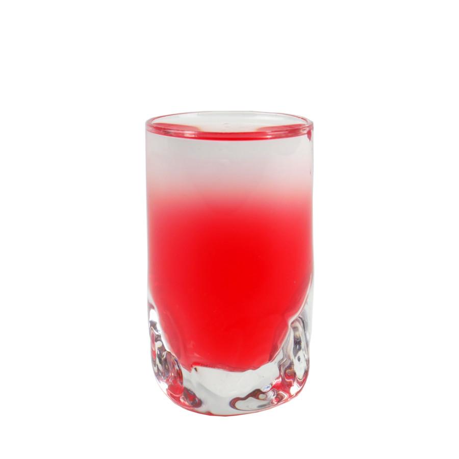 Passoa shot - biało czerwony shot